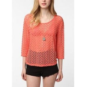 Urban Outfitters Staring at Stars / S Crochet Top
